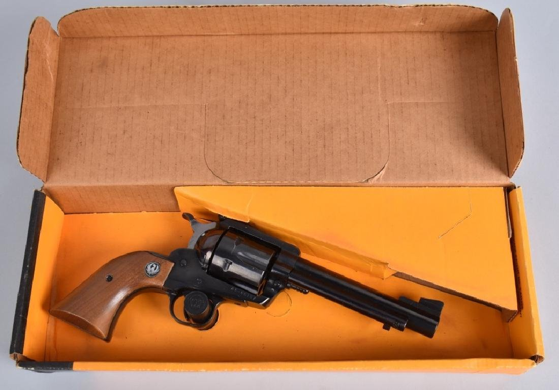 RUGER BLACKHAWK .44 MAG. REVOLVER, BOXED