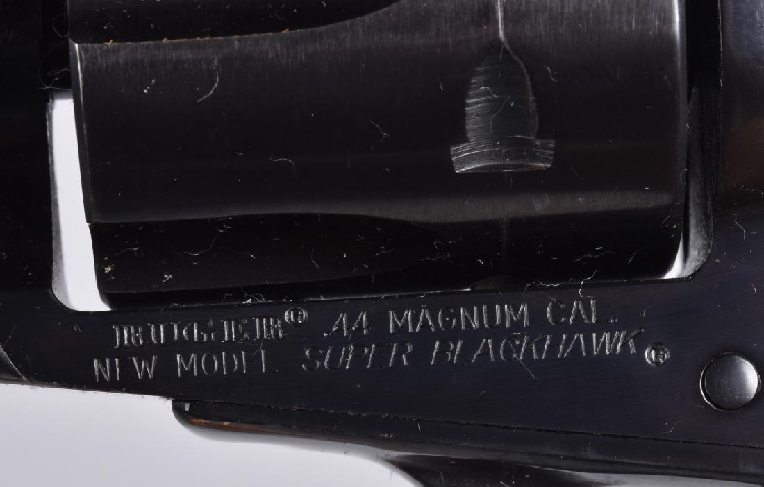 RUGER BLACKHAWK .44 MAG. REVOLVER, BOXED - 5