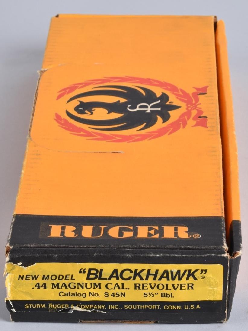 RUGER BLACKHAWK .44 MAG. REVOLVER, BOXED - 6