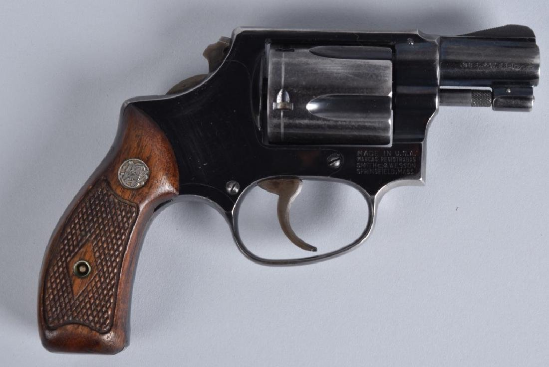 SMITH & WESSON .38 REVOLVER MODEL 38