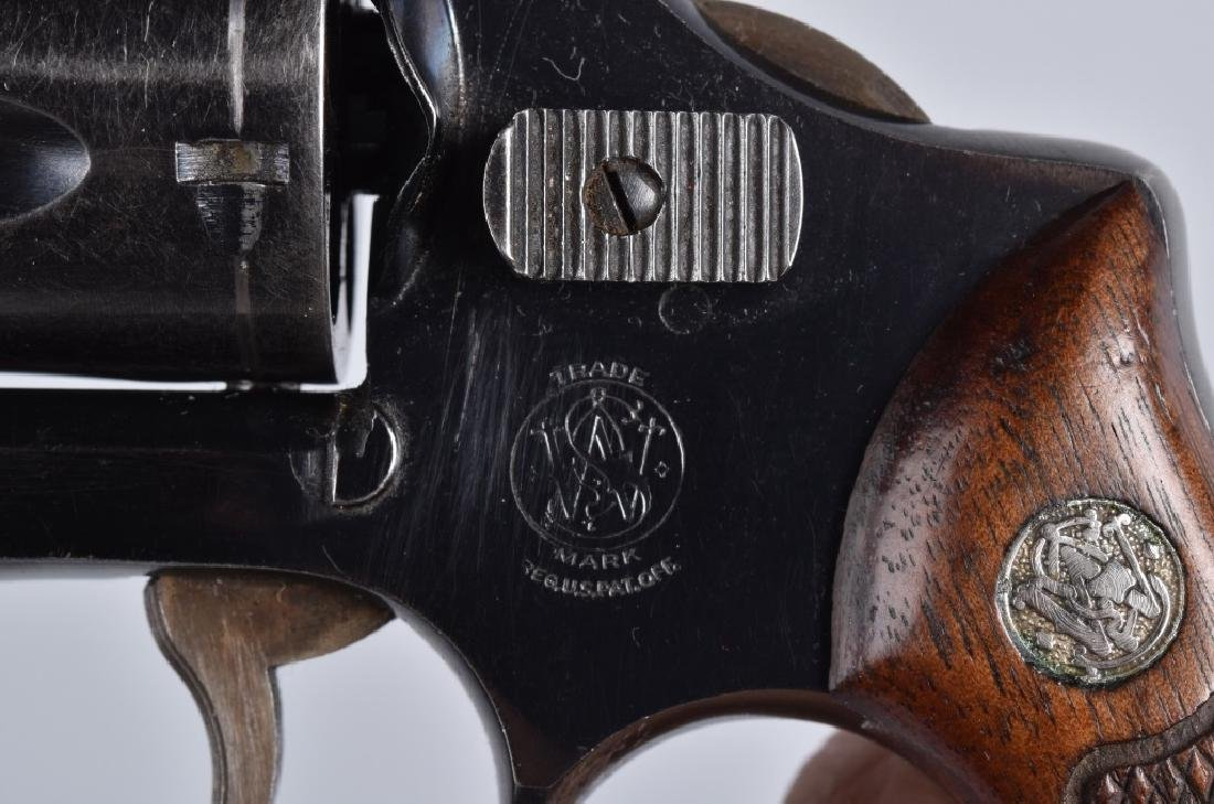 SMITH & WESSON .38 REVOLVER MODEL 38 - 4