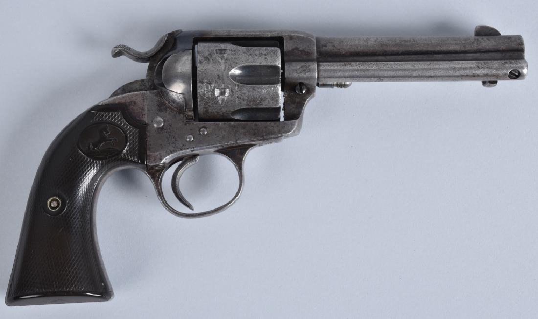 COLT BISLEY, .32 WCF SA REVOLVER, MFG 1901