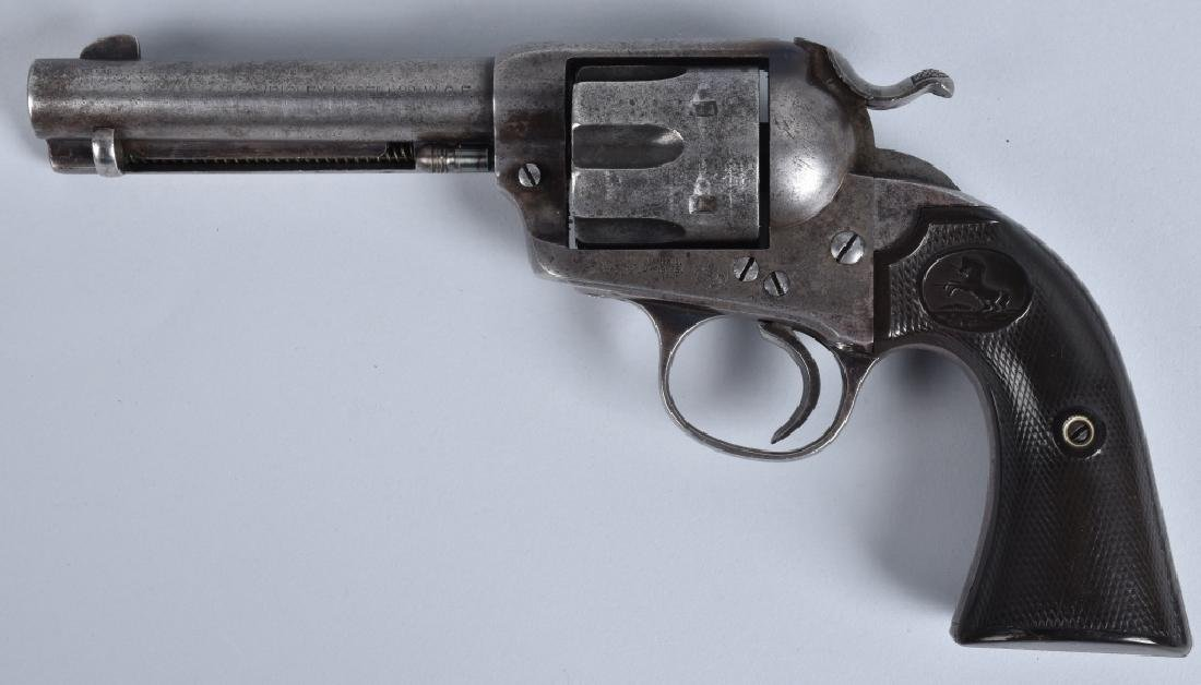 COLT BISLEY, .32 WCF SA REVOLVER, MFG 1901 - 2