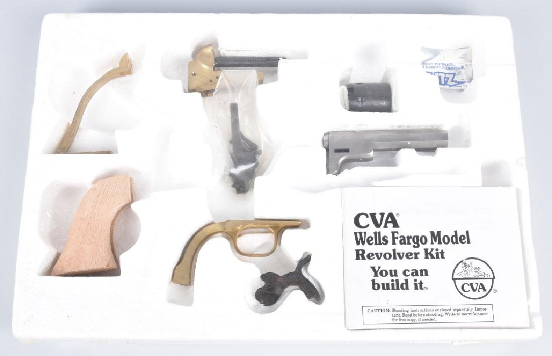 CVA WELLS FARGO MODEL REVOLVER KIT, .32, SEALED