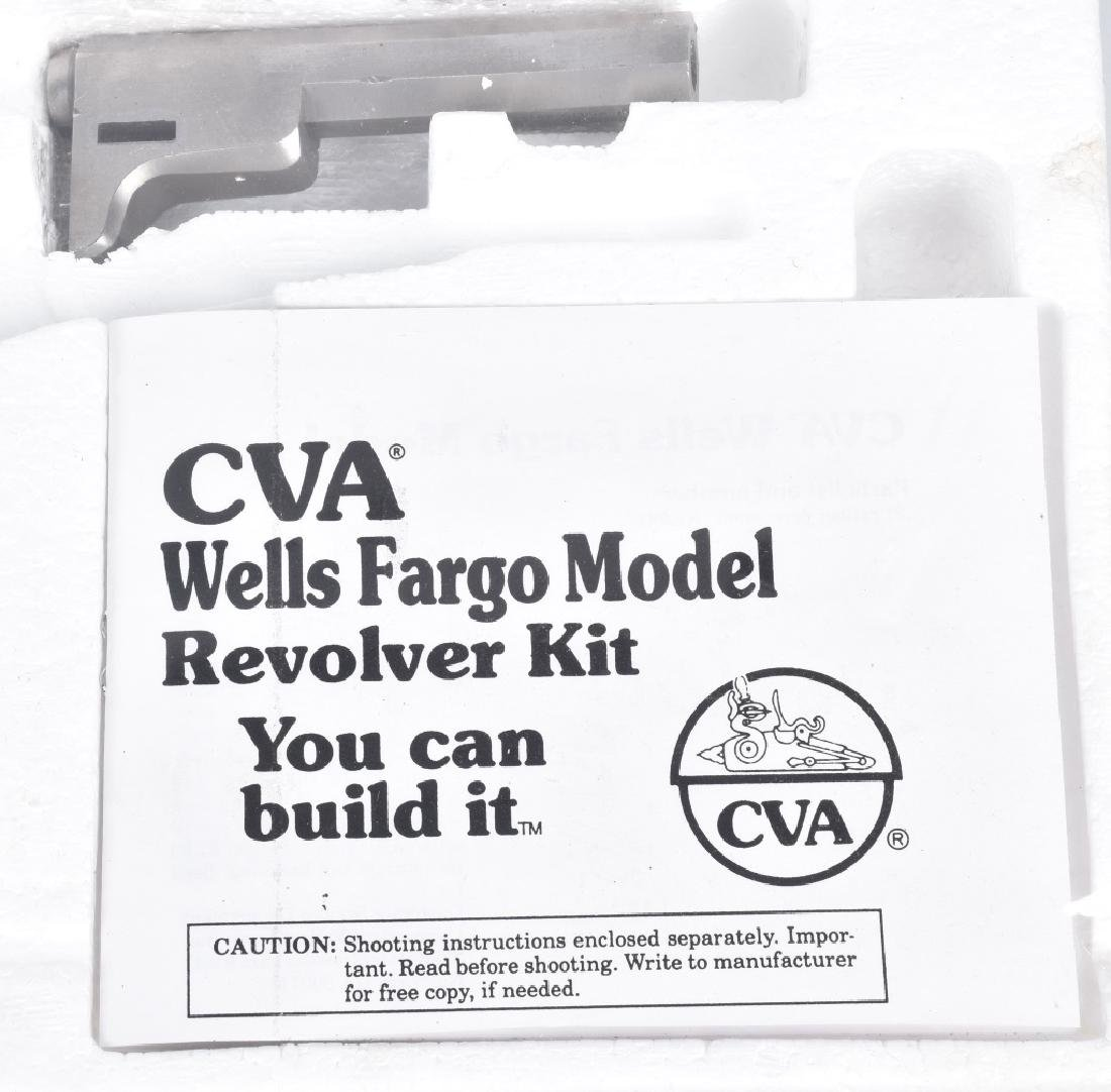 CVA WELLS FARGO MODEL REVOLVER KIT, .32, SEALED - 4