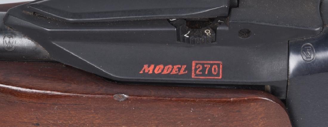WINCHESTER MODEL 270, ,22 PUMP RIFLE - 8