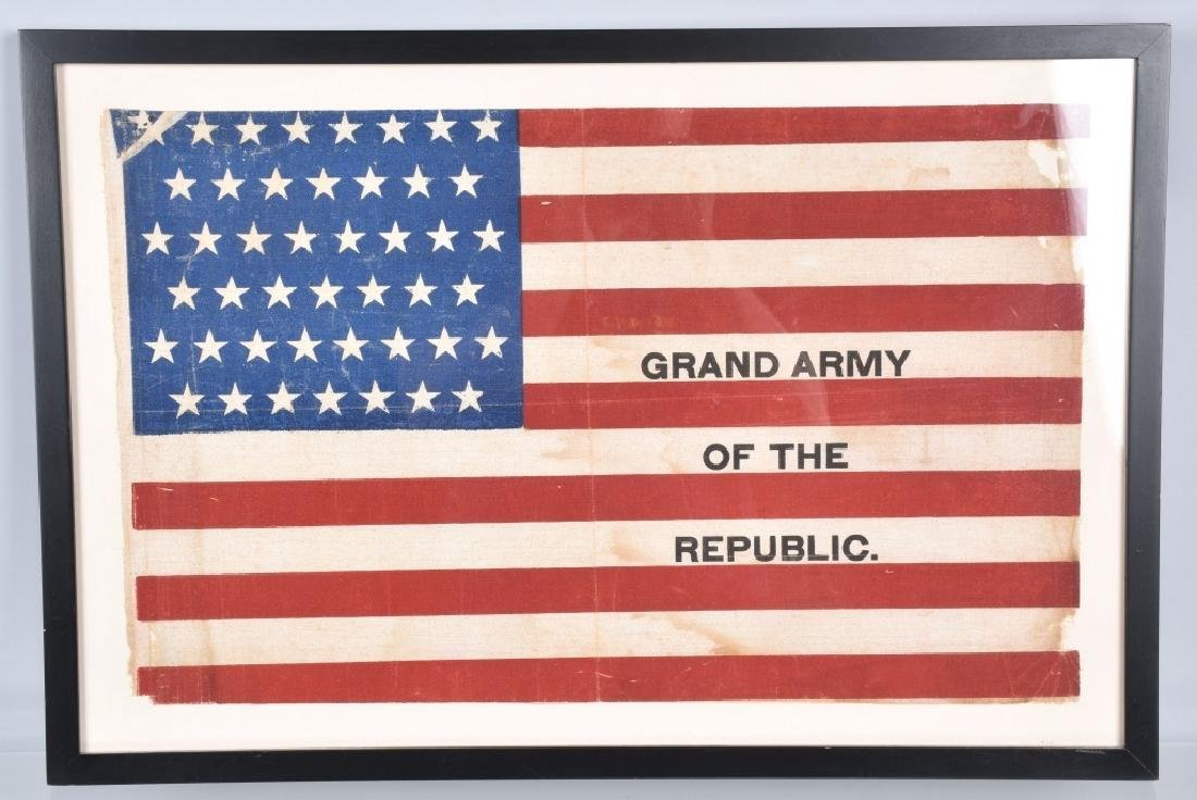 45 STAR GRAND ARMY OF THE REPUBLIC FLAG