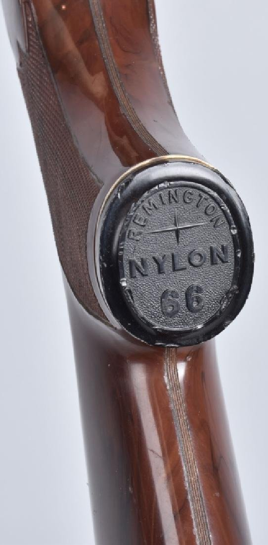 REMINGTON NYLON 66, .22 BOLT ACTION RIFLE - 9