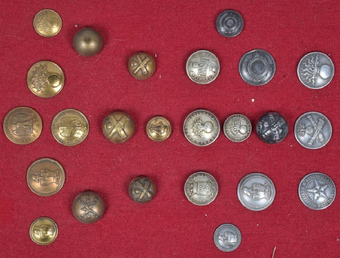 U.S. & FOREIGN MILITARY PINS, BUTTONS AWARDS - 2
