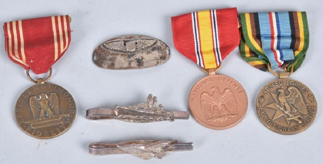 U.S. & FOREIGN MILITARY PINS, BUTTONS AWARDS - 7