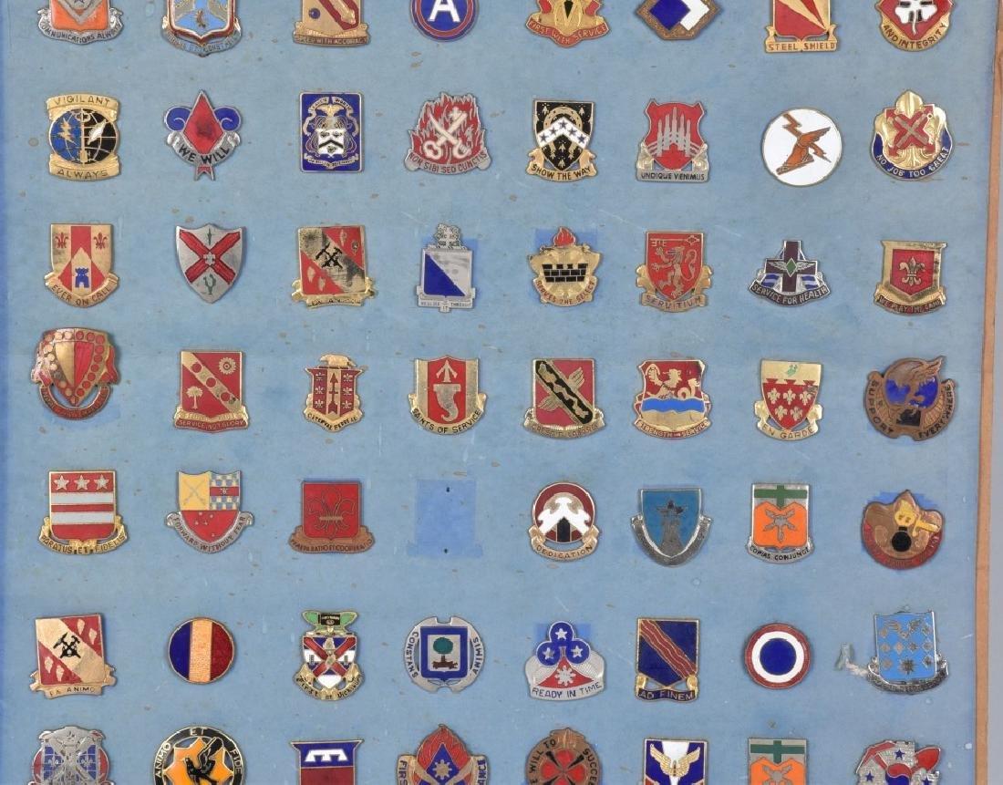 78-U.S. MILITARY UNIT ENAMELED LAPEL PINS - 3