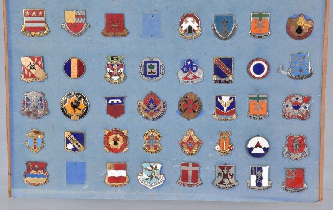 78-U.S. MILITARY UNIT ENAMELED LAPEL PINS - 4