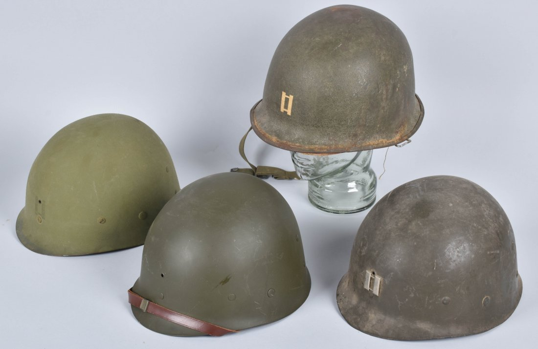 WW2 U.S. CAPTAINS HELMET and LINERS