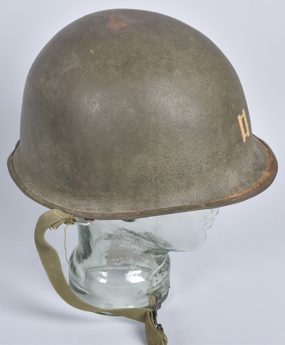 WW2 U.S. CAPTAINS HELMET and LINERS - 2