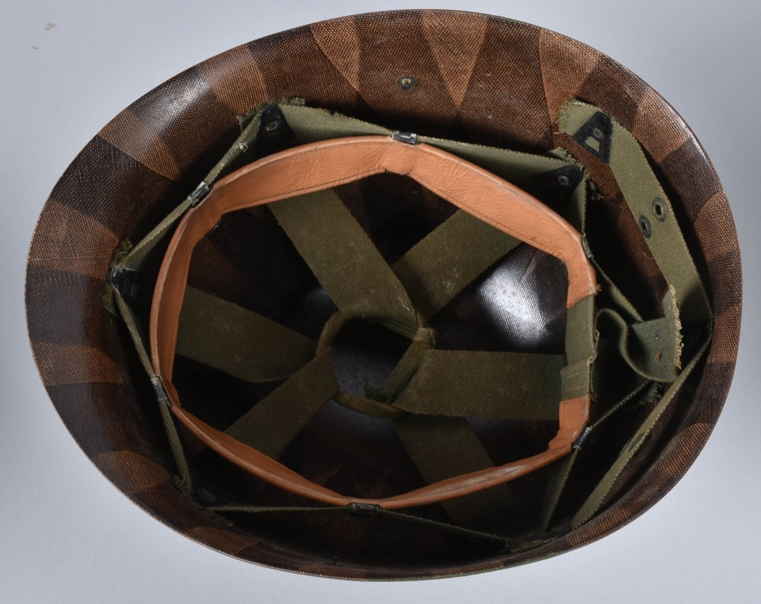 WW2 U.S. CAPTAINS HELMET and LINERS - 5