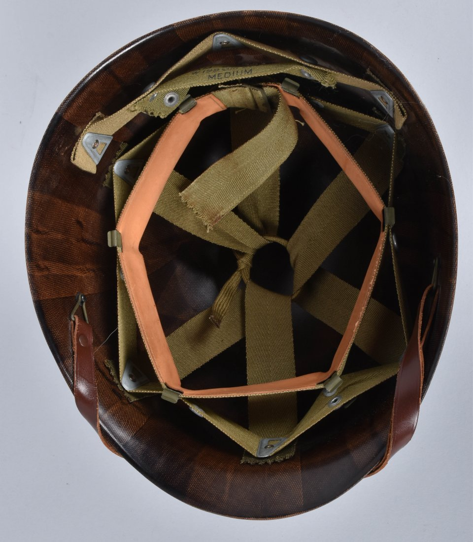 WW2 U.S. CAPTAINS HELMET and LINERS - 7