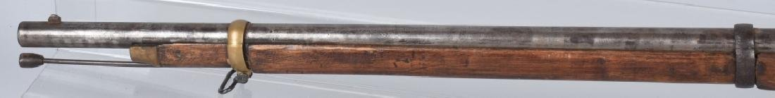 CIVIL WAR .58 2 BAND RIFLE, STAMPED FAYETTEVILLE - 10