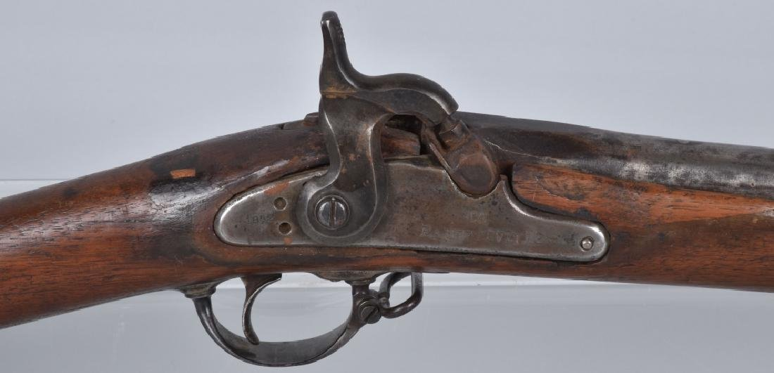 CIVIL WAR .58 2 BAND RIFLE, STAMPED FAYETTEVILLE - 3
