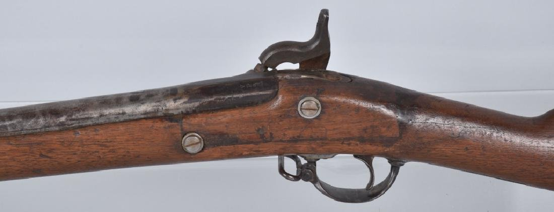 CIVIL WAR .58 2 BAND RIFLE, STAMPED FAYETTEVILLE - 8