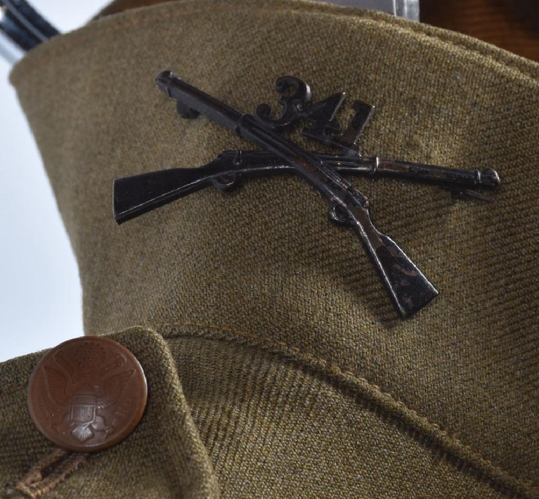 WW1 Lt's 341st INFANTRY TUNIC, HAT AND PANTS - 3