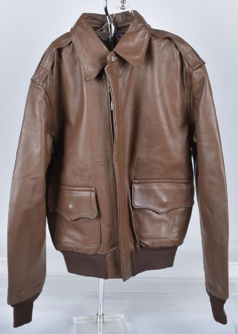 LEATHER TYPE A-2 A.C.R. CONTRACT JACKET