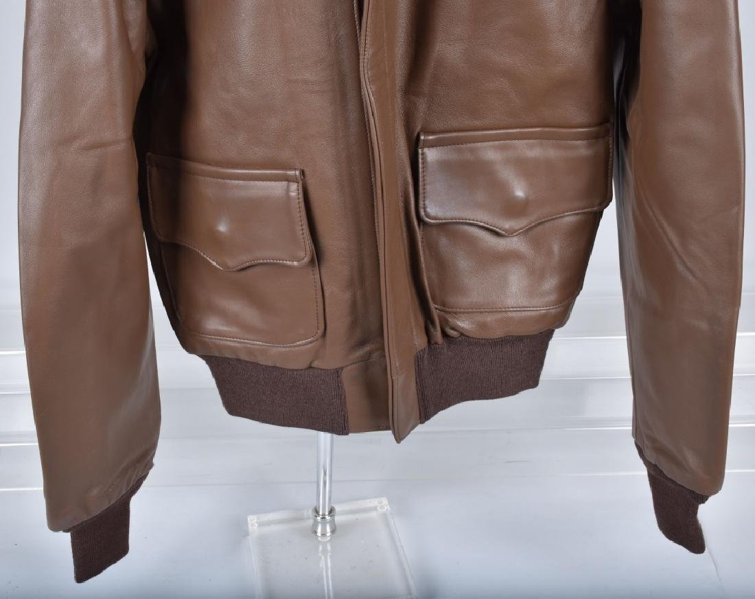 LEATHER TYPE A-2 A.C.R. CONTRACT JACKET - 3