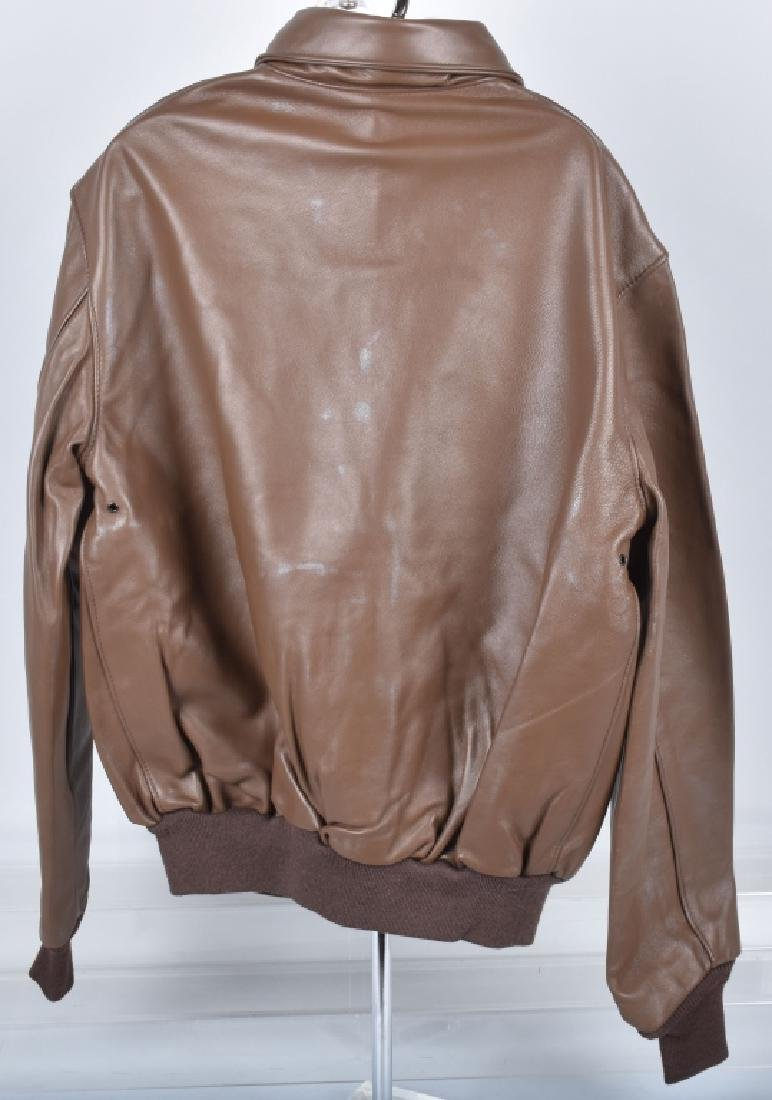 LEATHER TYPE A-2 A.C.R. CONTRACT JACKET - 4