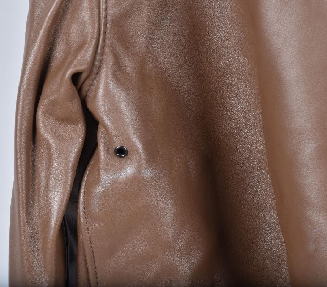 LEATHER TYPE A-2 A.C.R. CONTRACT JACKET - 6
