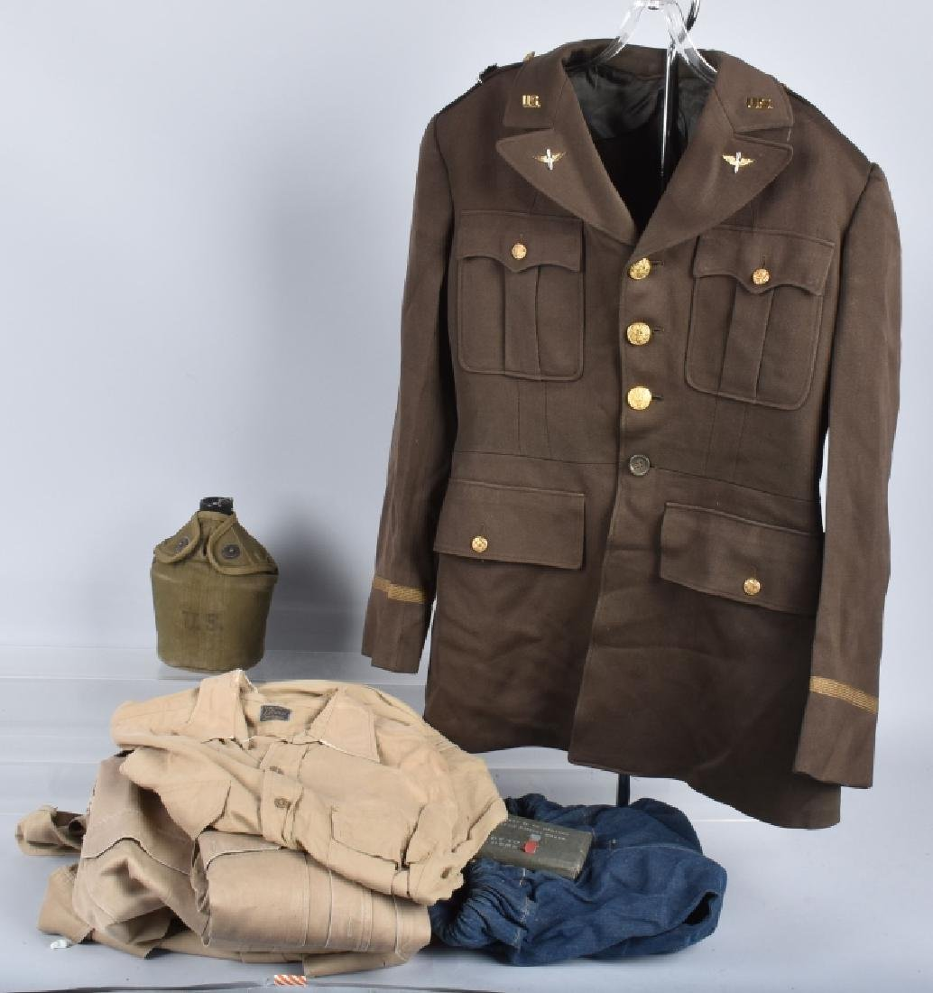 WW2 13th AIR FORCE MAJOR'S TUNIC & MORE