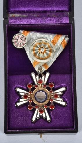 Japanese Order Of The Sacred Treasure Medal