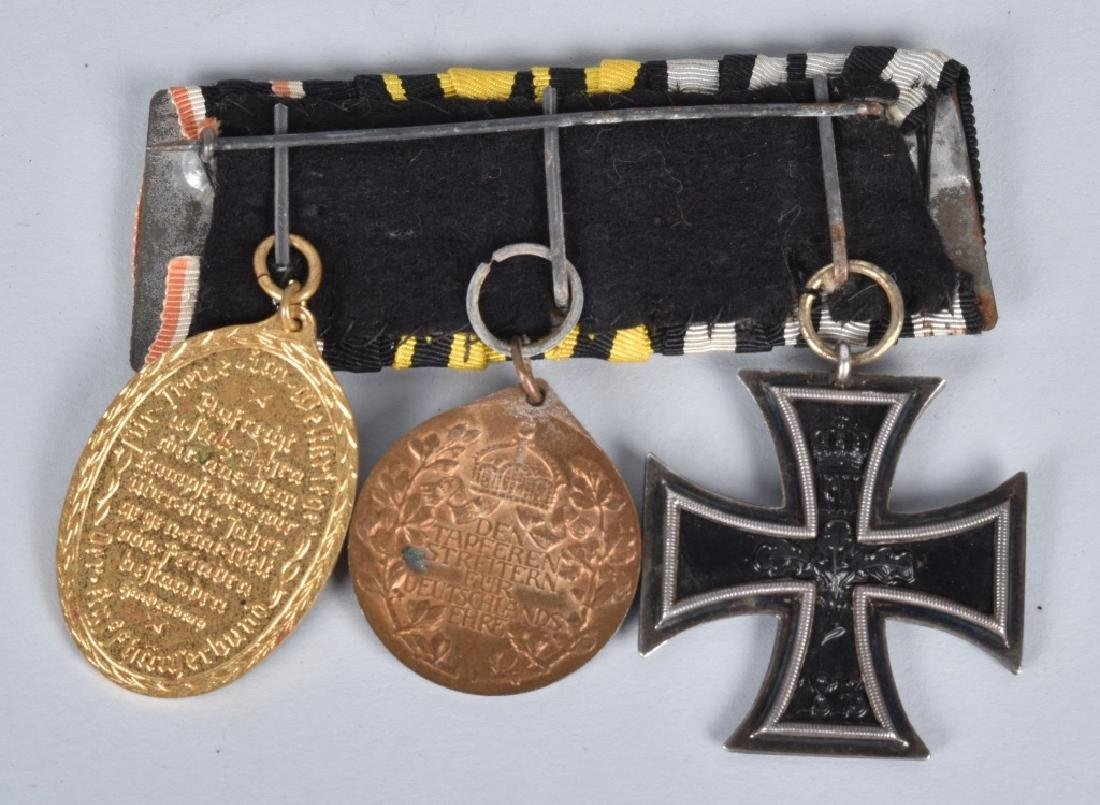 IMPERIAL GERMAN 3 PLACEMENT MEDAL BAR - 2