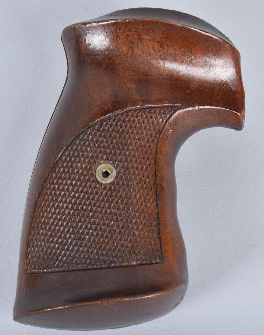 LOT 2 HOLSTERS and WOOD CHECKERED GRIPS - 3