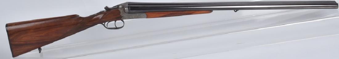 MERKEL GDR 12GA SxS SHOTGUN Engraved