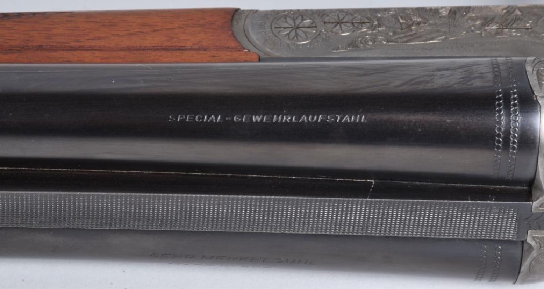 MERKEL GDR 12GA SxS SHOTGUN Engraved - 5