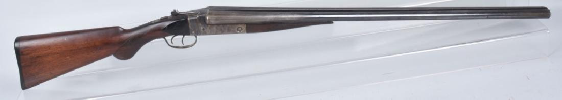 STEVENS SxS DOUBLE BARREL 12 GA. SHOTGUN