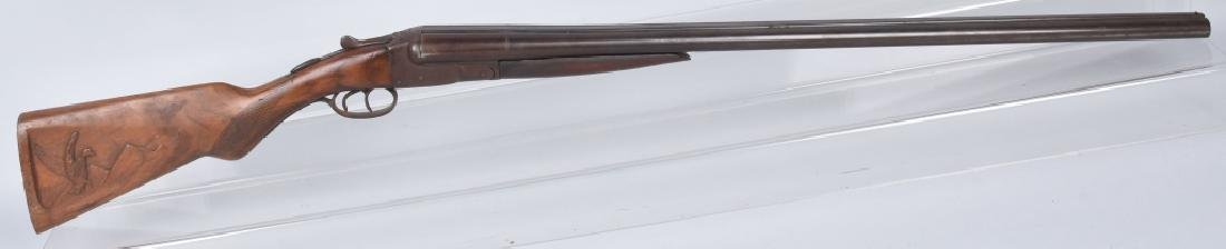 N R DAVIS 12 GA SxS SHOTGUN