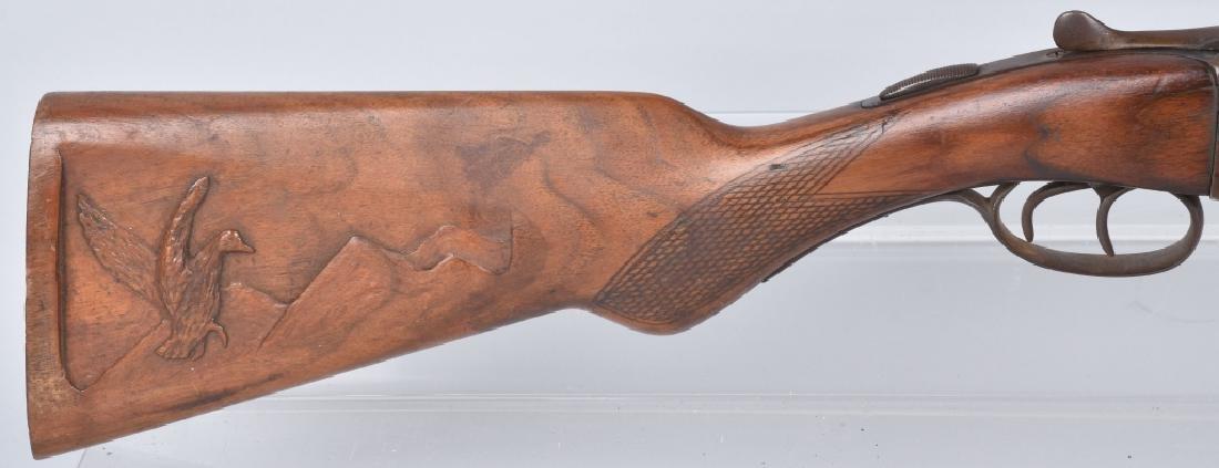 N R DAVIS 12 GA SxS SHOTGUN - 3