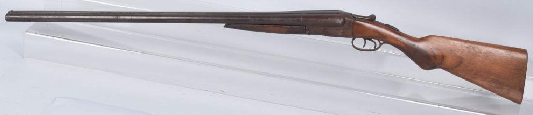 N R DAVIS 12 GA SxS SHOTGUN - 4