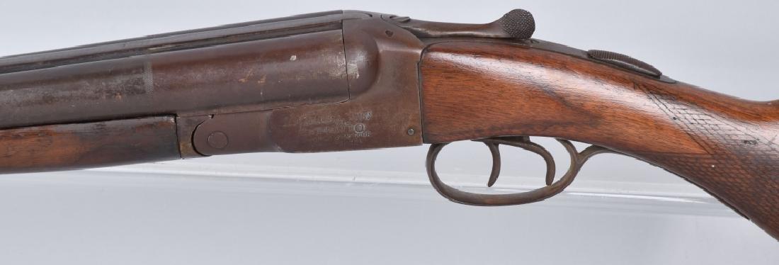 N R DAVIS 12 GA SxS SHOTGUN - 5