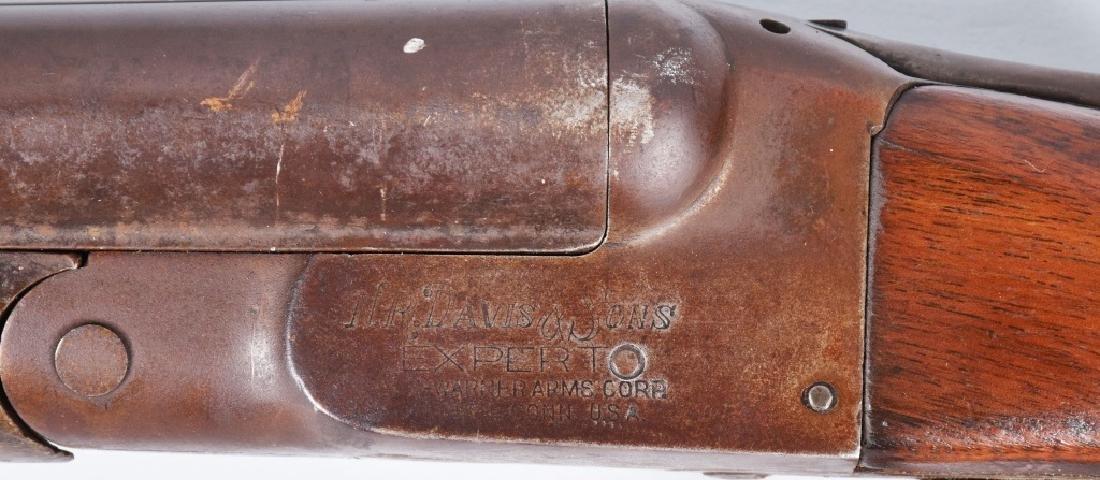 N R DAVIS 12 GA SxS SHOTGUN - 7
