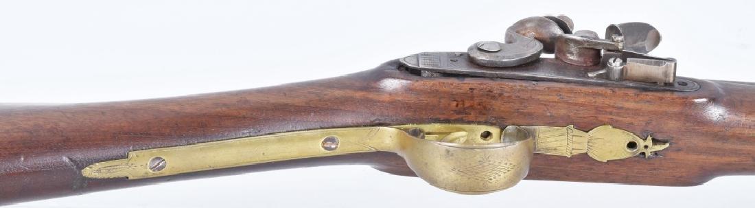 FLINTLOCK .72 CALIBER LONG BARREL FOWLER - 9