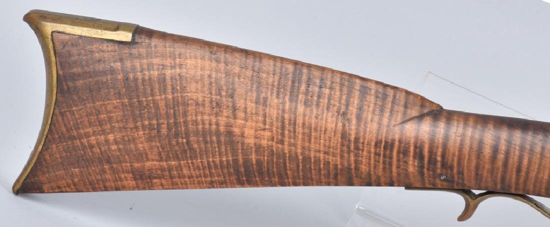 PERCUSSION TENNESSEE TYPE .38 FULL STOCK RIFLE - 5