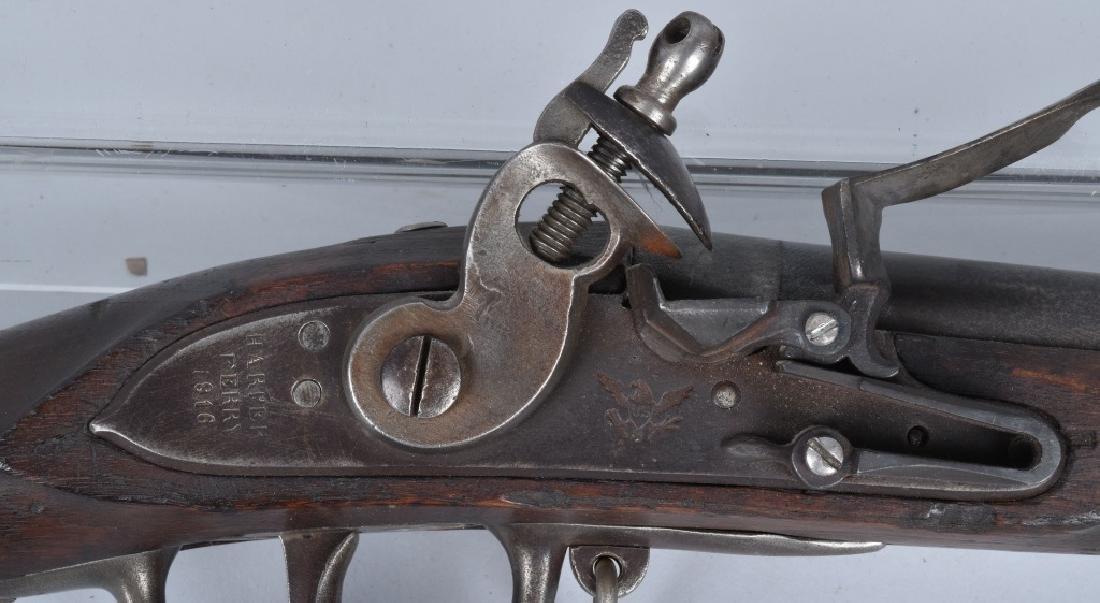 U.S. MODEL 1808 HARPERS FERRY, .69 MUSKET, 1816 - 2