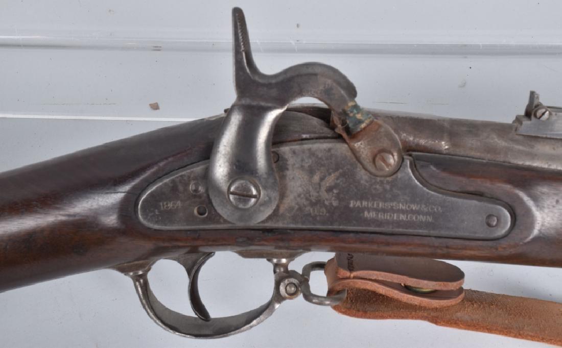 U.S. M1861, PARKER SNOW .58 RIFLE, 1864 - 2