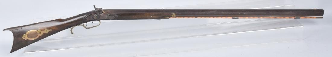 PERCUSSION HALF STOCK LOUISVILLE .38 RIFLE