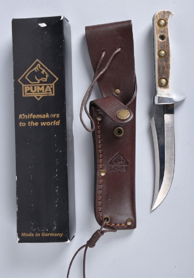 PUMA 6393, SKINNER KNIFE & SHEATH, BOXED