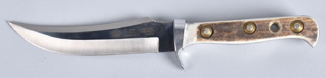 PUMA 6393, SKINNER KNIFE & SHEATH, BOXED - 2