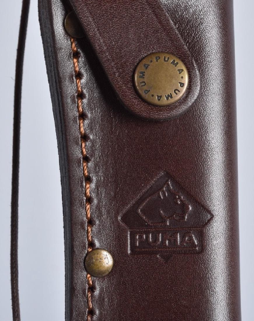 PUMA 6393, SKINNER KNIFE & SHEATH, BOXED - 5