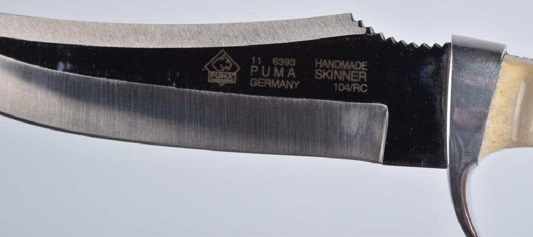 PUMA 6393, SKINNER KNIFE & SHEATH, BOXED - 4