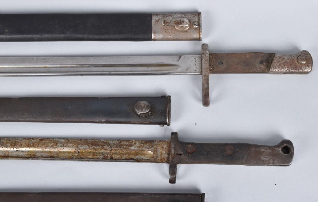 6-MILITARY RIFLE BAYONETS, WW1 and MORE - 2